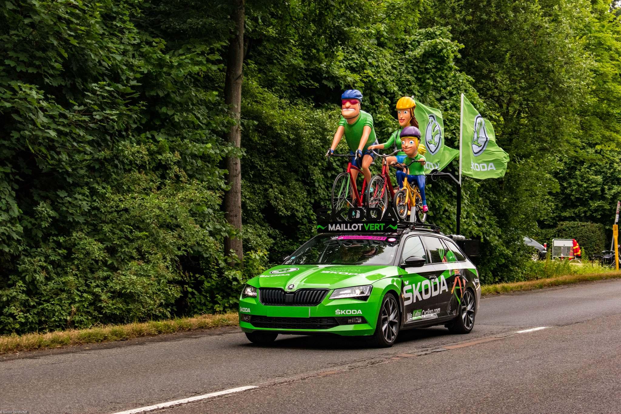 le tour2 Caravan Before the Start of the Tour de France   Dusseldorf
