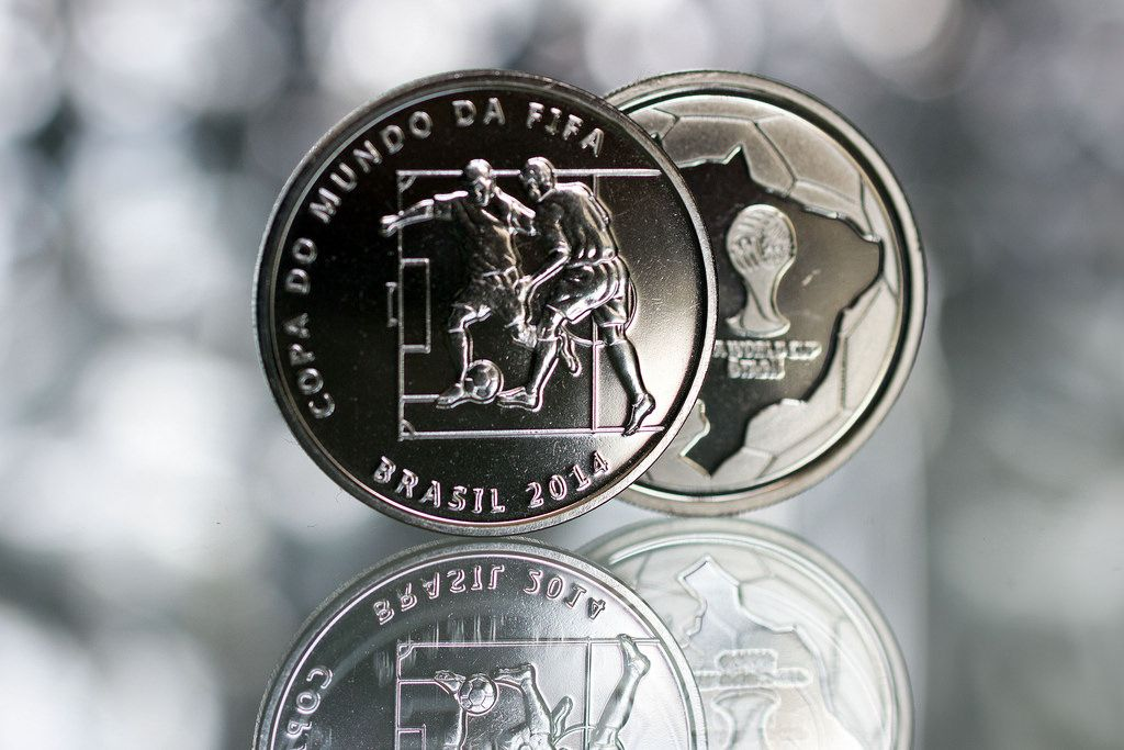 2014 brazil7 Commemorative Coins of the FIFA World Cup 2014 in Brazil