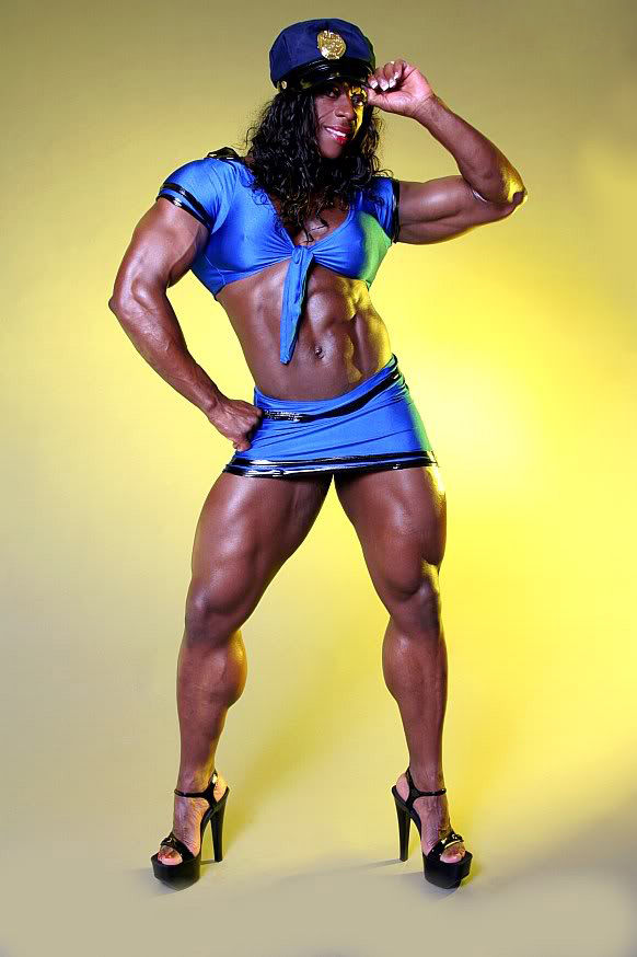 female bodybuilders2 Extreme Female Bodybuilder   Iris Kyle