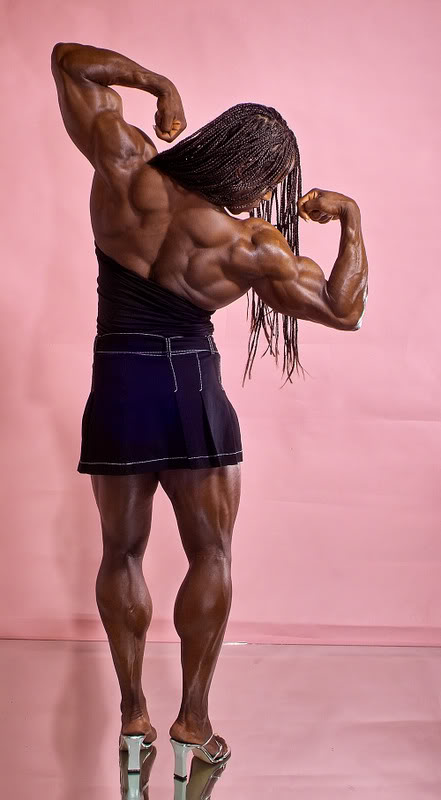 female bodybuilders3 Extreme Female Bodybuilder   Iris Kyle