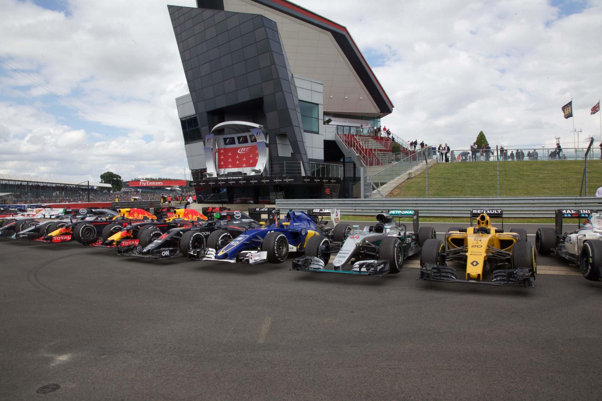 britishgp Formula 1   British GP 2016 in Silverstone