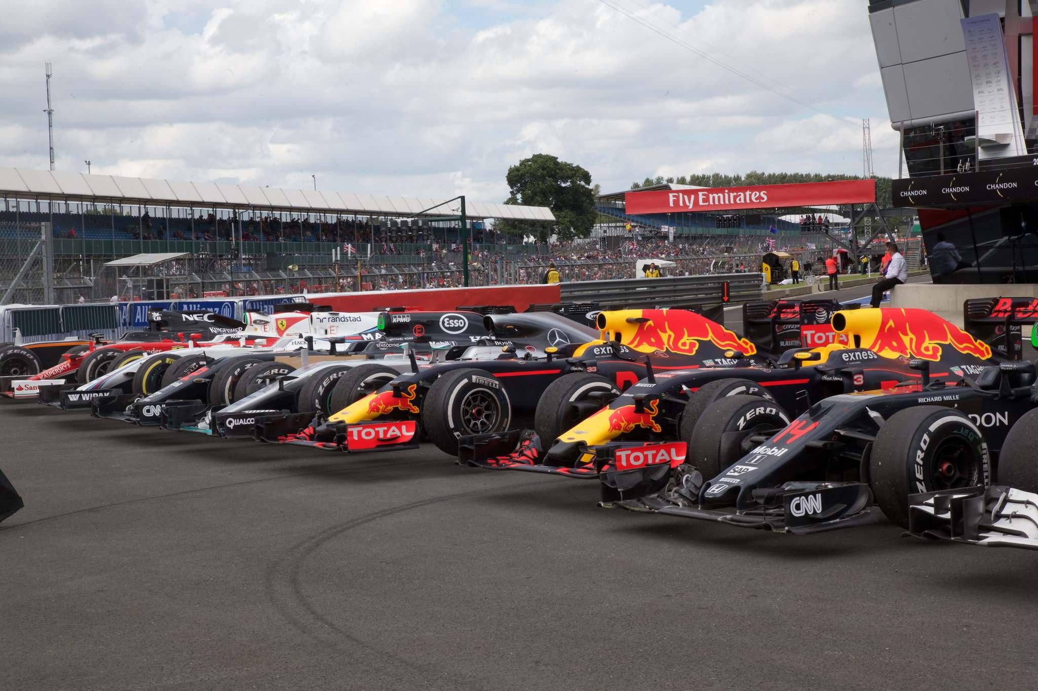 britishgp1 Formula 1   British GP 2016 in Silverstone