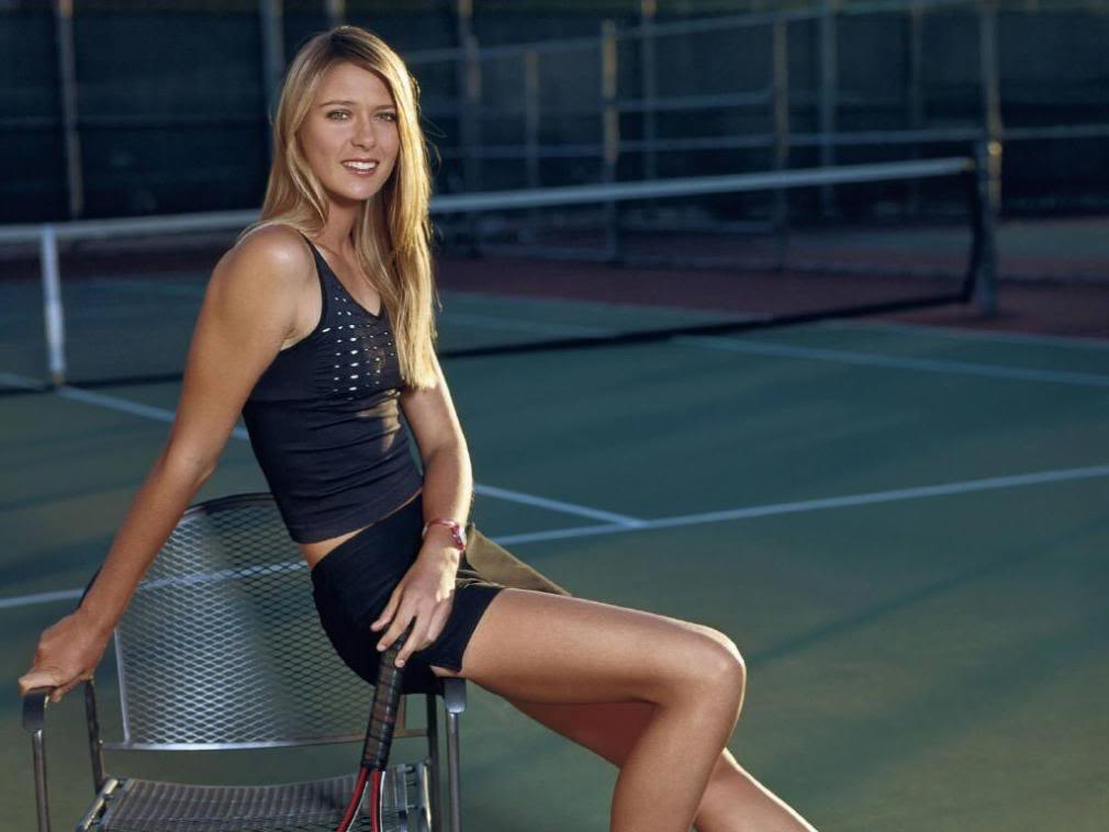 maria sharapova2 Hottest Tennis Player Maria Sharapova