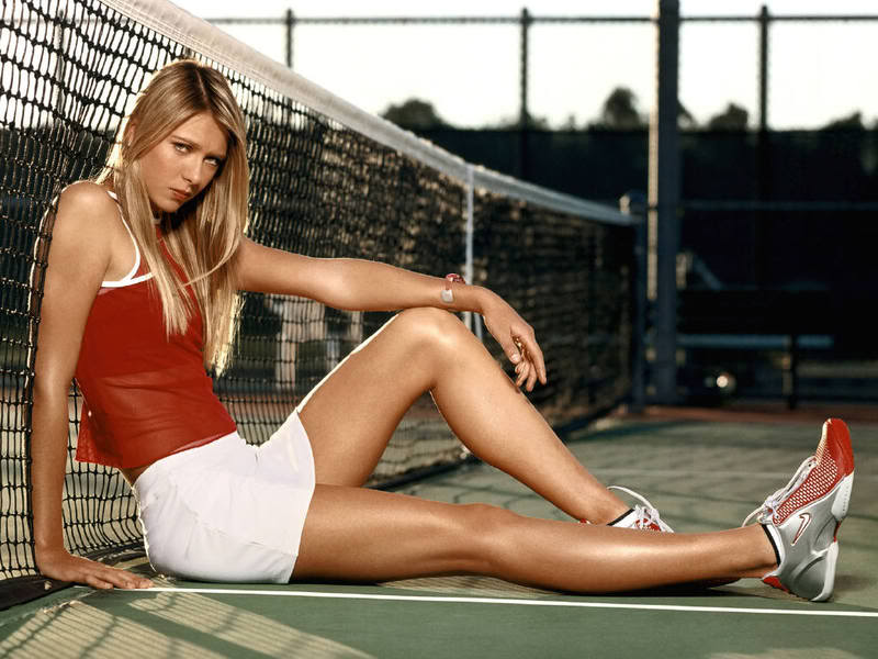 maria sharapova3 Hottest Tennis Player Maria Sharapova