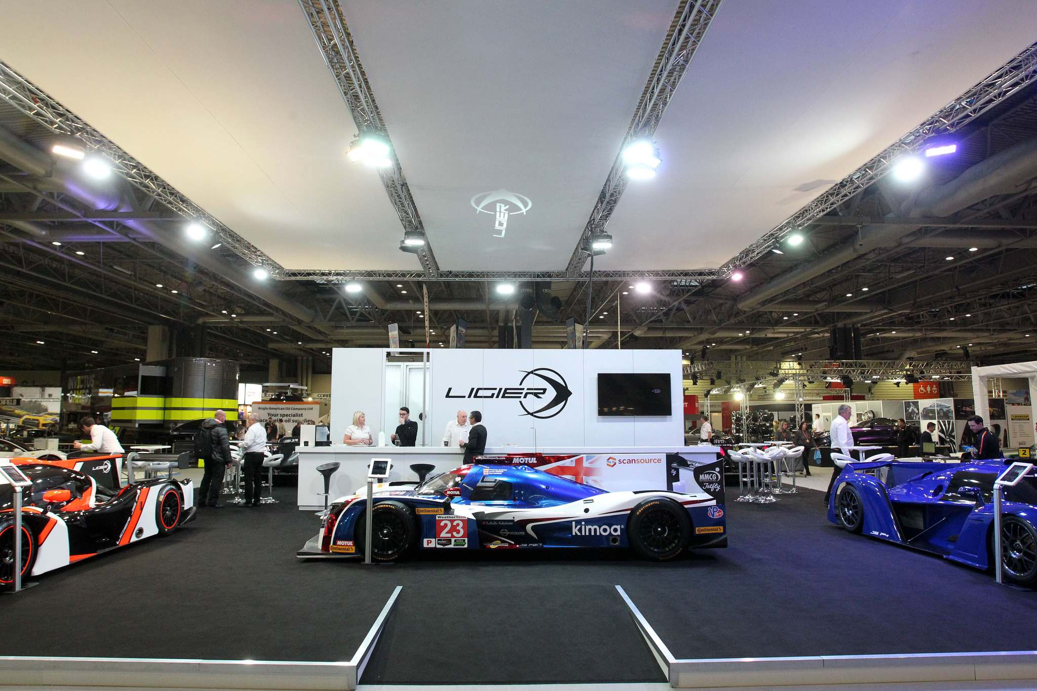 ligier 20182 Ligier at Autosport International Show 2018
