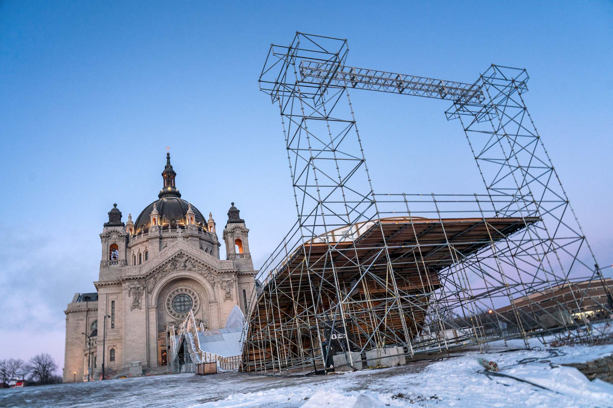red bull crashed ice 2018 Red Bull Crashed Ice 2018 in St Paul, Minnesota