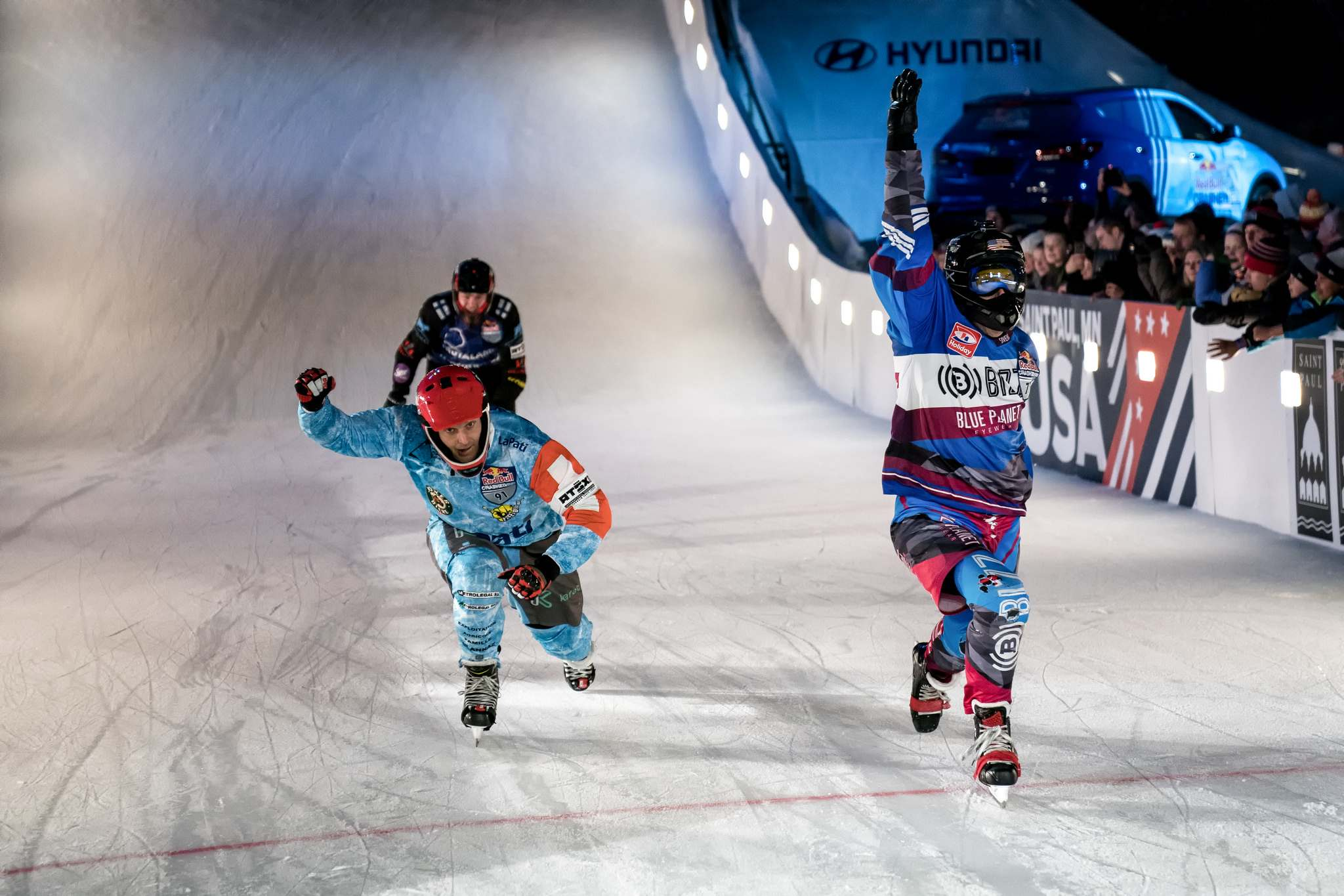 red bull crashed ice 20187 Red Bull Crashed Ice 2018 in St Paul, Minnesota