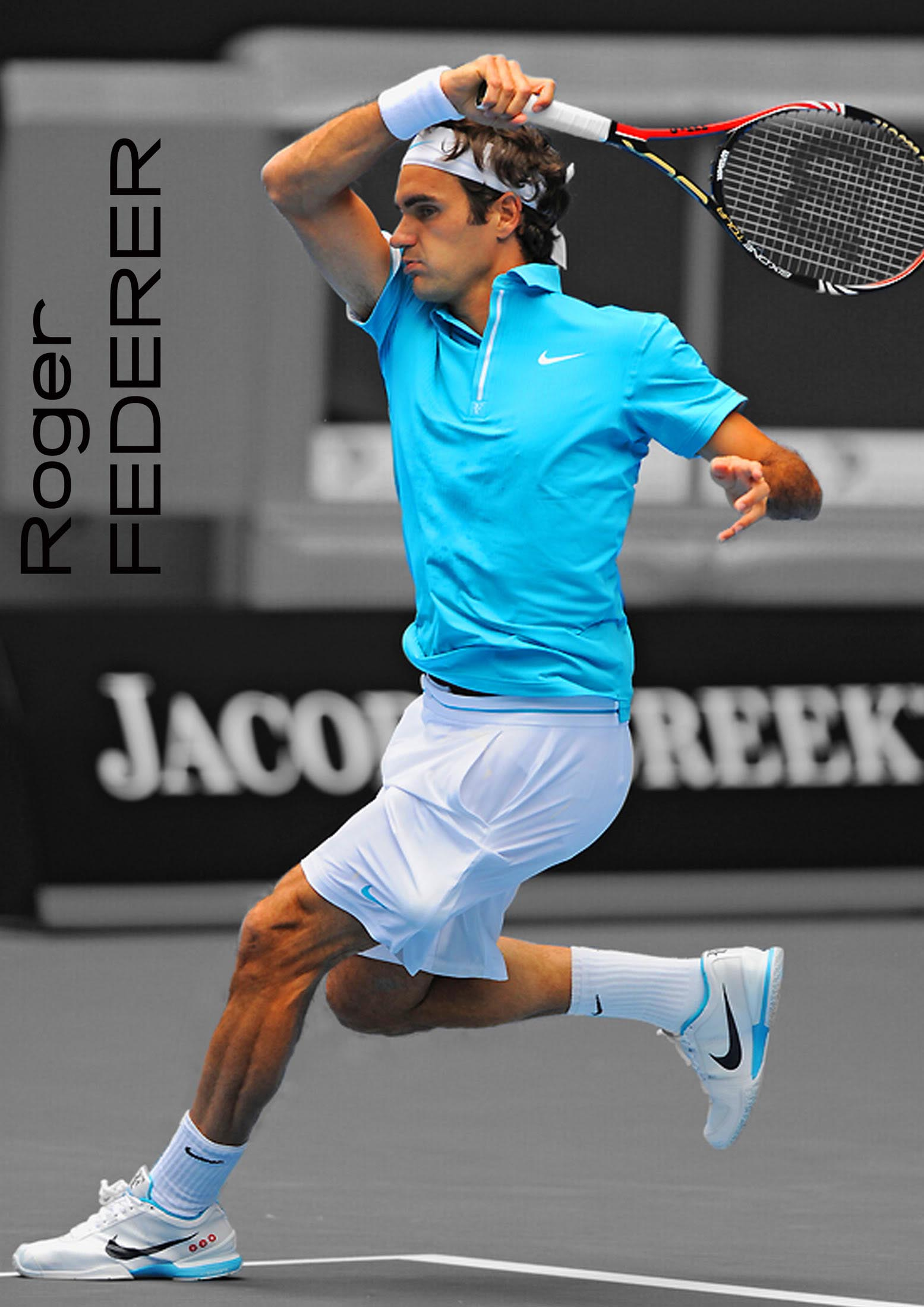 roger federer2 Roger Federer No. 2 ATP Tennis Player