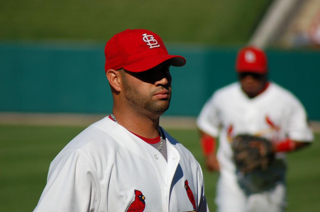 albert pujols5 St. Louis Cardinals Baseball Hero   Albert Pujols