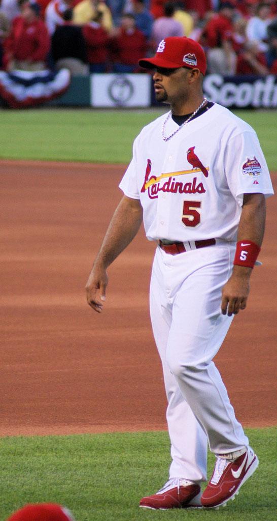 albert pujols6 St. Louis Cardinals Baseball Hero   Albert Pujols