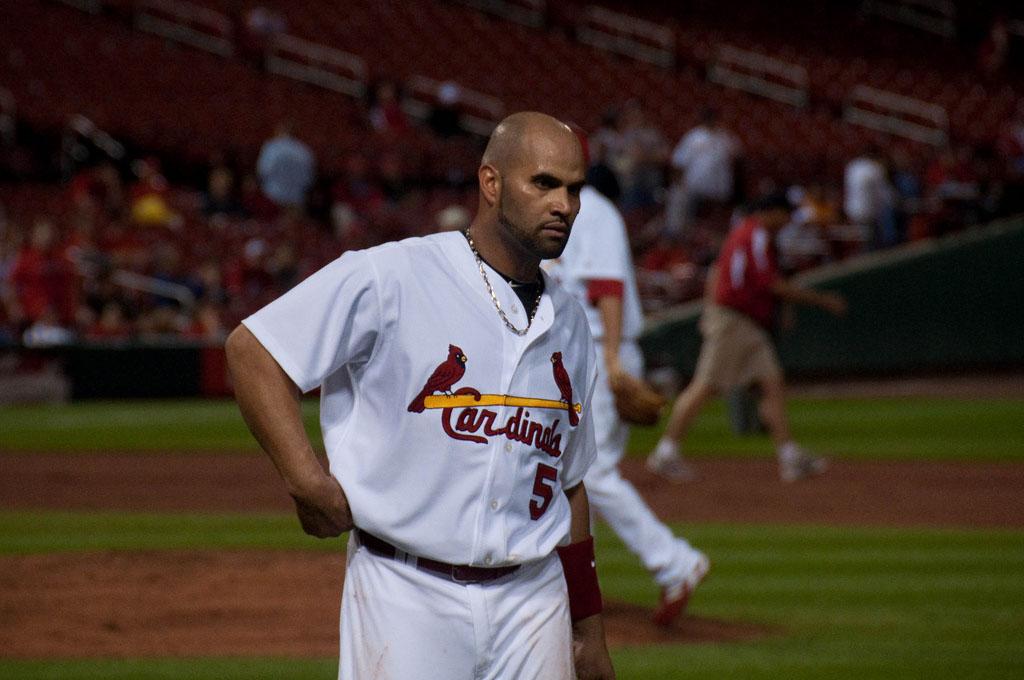 albert pujols7 St. Louis Cardinals Baseball Hero   Albert Pujols