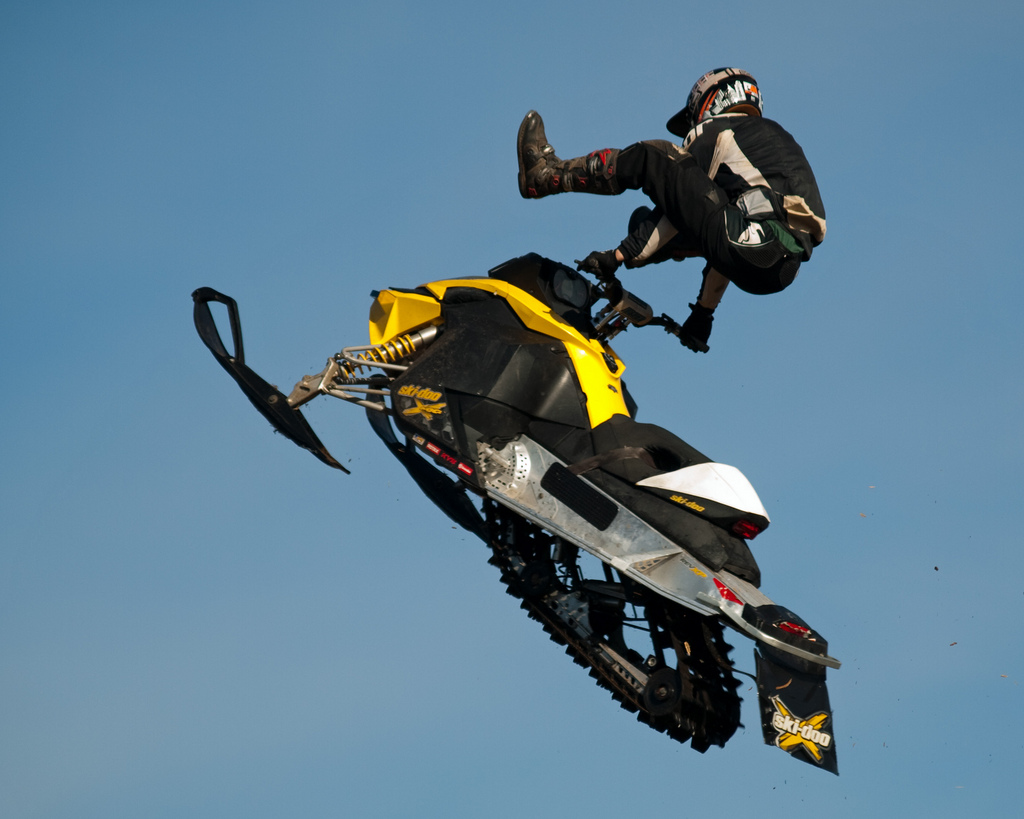 ski doo snowmobiles1 X treme Skidoo Show