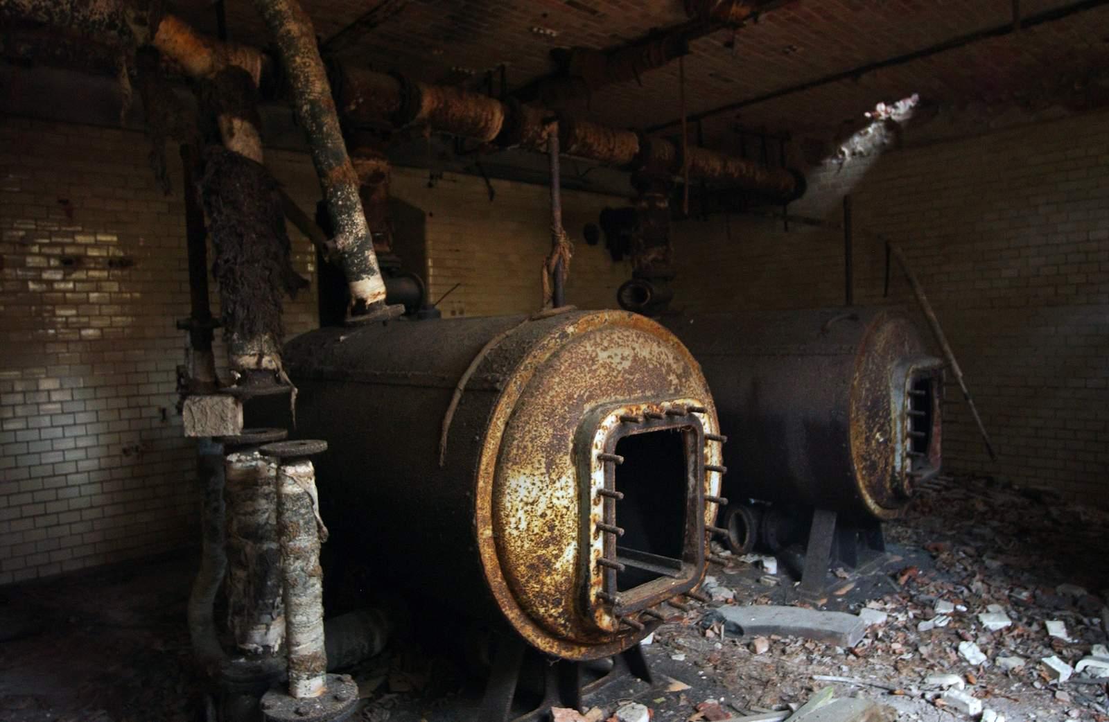 beelitz heilstatten6 Abandoned Beelitz Heilstatten Hospital