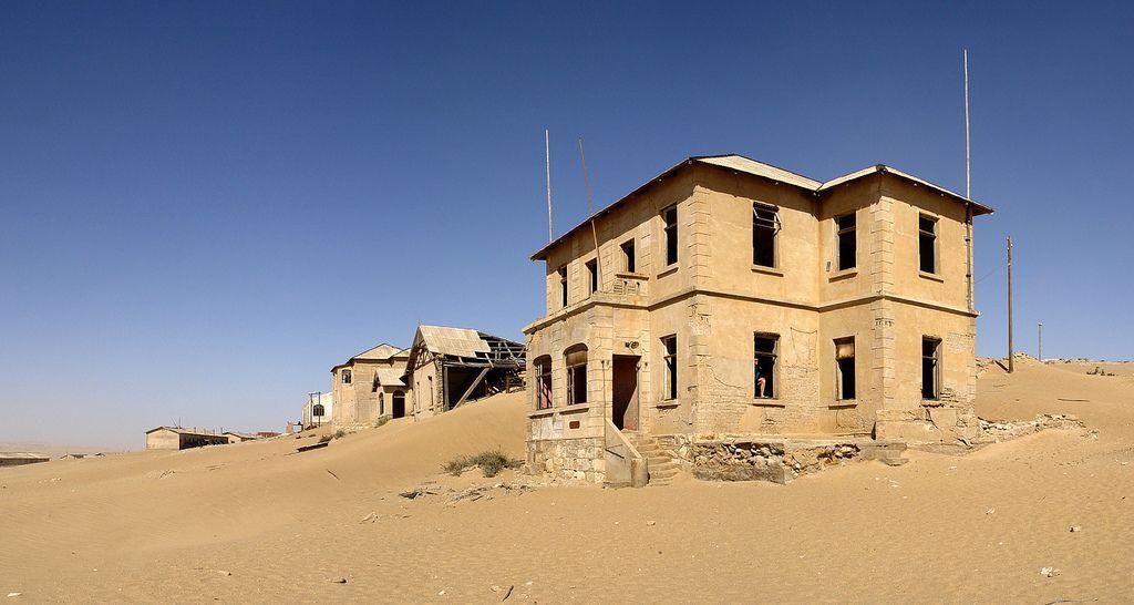 kolmanskop Abandoned Kolmanskop Ghost Town in Namibia