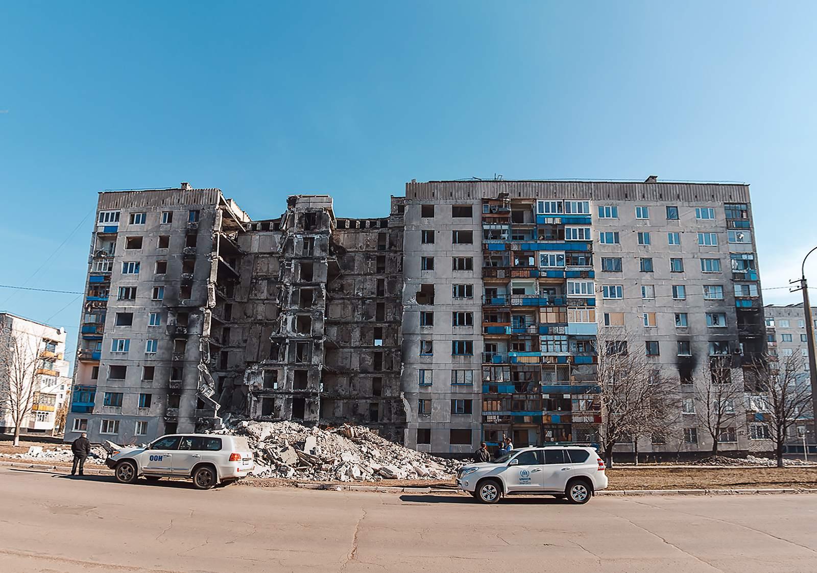 eastern ukraine Daily Reality in Eastern Ukraine