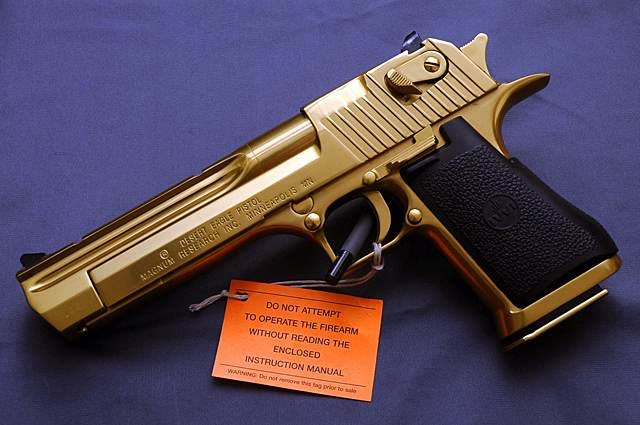 gold desert eagle Gold Desert Eagle