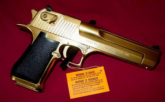 gold desert eagle1 Gold Desert Eagle