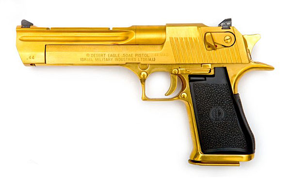 gold desert eagle5 Gold Desert Eagle
