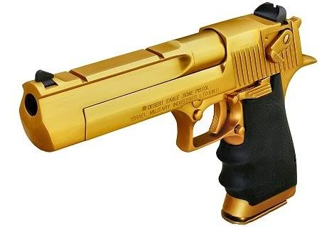 gold desert eagle8 Gold Desert Eagle