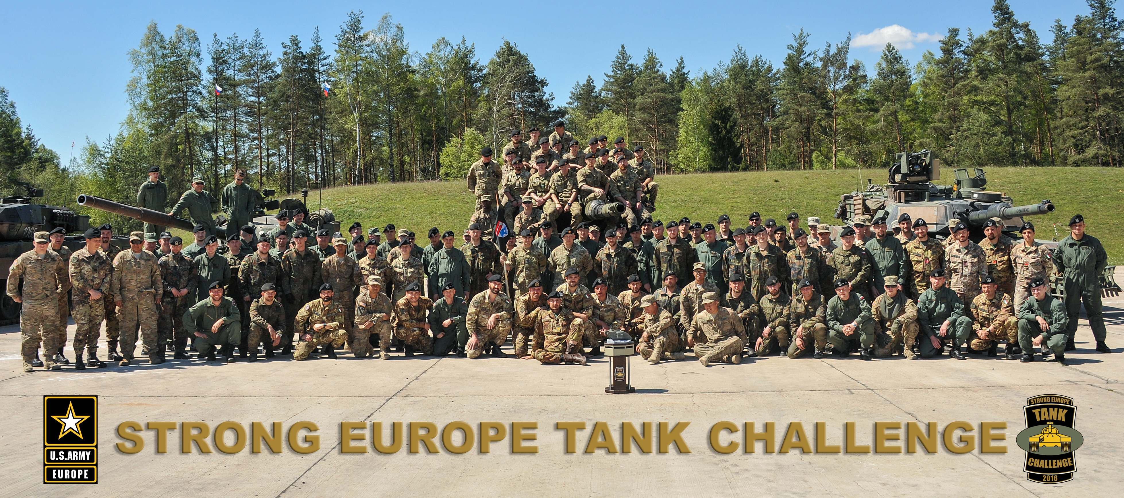 europe tank challenge12 Strong Europe Tank Challenge in Germany