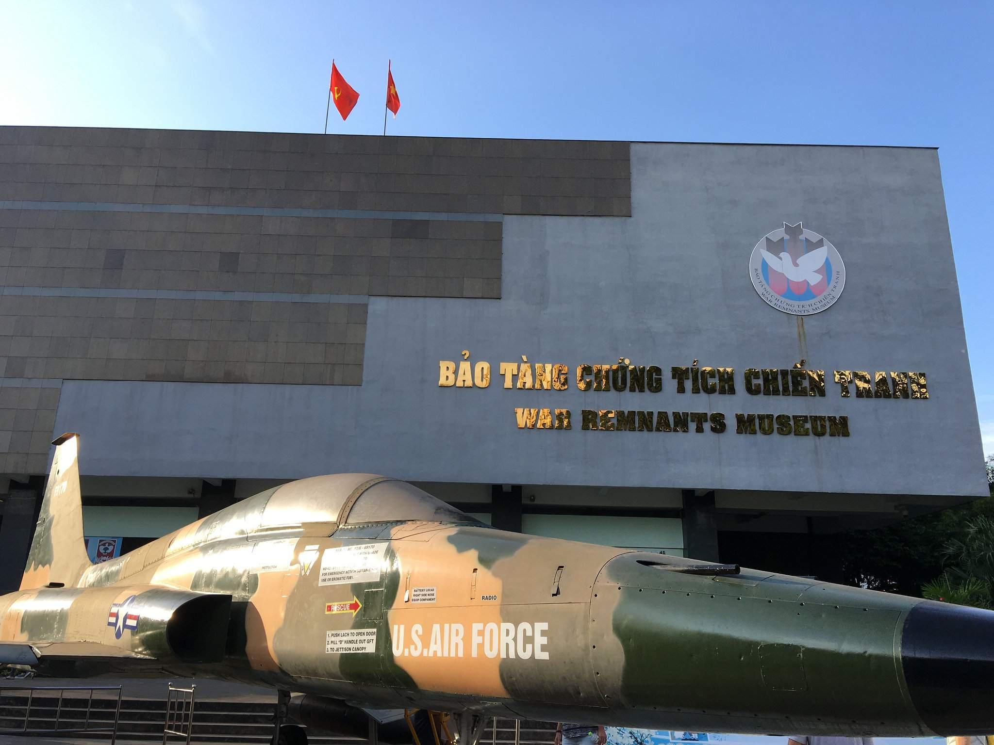 war remnants museum War Remnants Museum in Ho Chi Minh City, Vietnam
