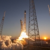 Falcon 9 lifted off from SpaceX Launch Complex