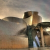 Amazing Building of Guggenheim Museum in Bilbao