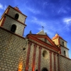 Best HDR Pictures of Mission Santa Barbara