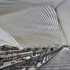 Liege-Guillemins Railway Station by Santiago Calatrava