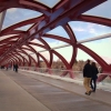 Peace Bridge by Santiago Calatrava, Calgary