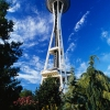 Pictures of Futuristic Space Needle in Seattle