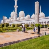 Picturesque Sheikh Zayed Grand Mosque in Abu Dhabi