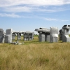 Car Replica of Stonehenge, Nebraska