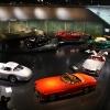 Mercedes Benz Museum in Stuttgart, Germany