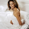 Sweet Katie Holmes in the Bed