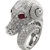 Zodiac Sign Fashion Rings