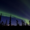 Aurora over Denali National Park and Preserve