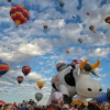 The Largest International Hot Air Balloon Fiesta in Albuquerque