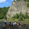 Rafting down the Dunajec Gorges