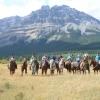 Riding at Wild Deuce, Rocky Mountains