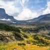 Scenic Glacier National Park, Montana