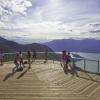 Sea to Sky Gondola Halfway Between Vancouver and Whistler