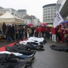 Rana Plaza Disaster – Protest after One Year in Brussels
