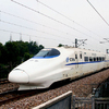 The Wuhan–Guangzhou High-Speed Railway in China ( 350 km/h )