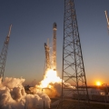 Falcon 9 lifted off from SpaceX ...
