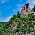 Castle Rheinfels in Sankt Goar, ...