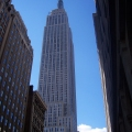 The Empire State Building in New...