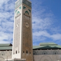 Hassan II Mosque in Casablanca, ...