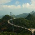 Langkawi Sky Bridge in Malaysia