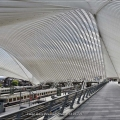Liege-Guillemins Railway Station...